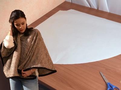 DIY Couture - Faire le patron d'un poncho | Cecile