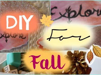[DIY] for Fall. DIY pour l'automne !