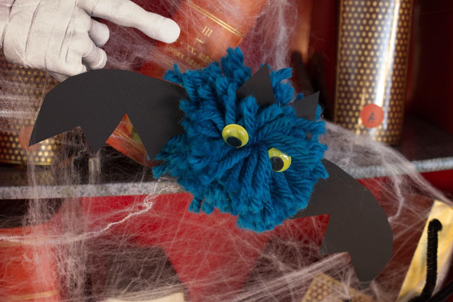 DIY Halloween - Comment faire un pompon chauve-souris ?