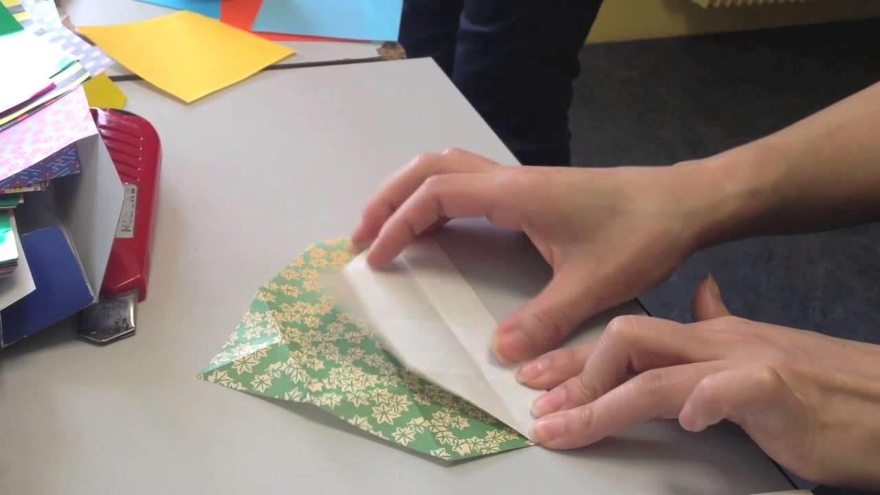Origami: Coquilles saint jacques délivrant des messages