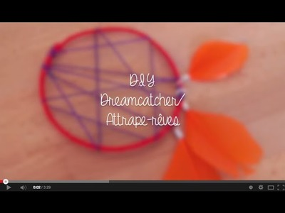 { Summer DIY} - Dreamcatcher. Attrape rêves