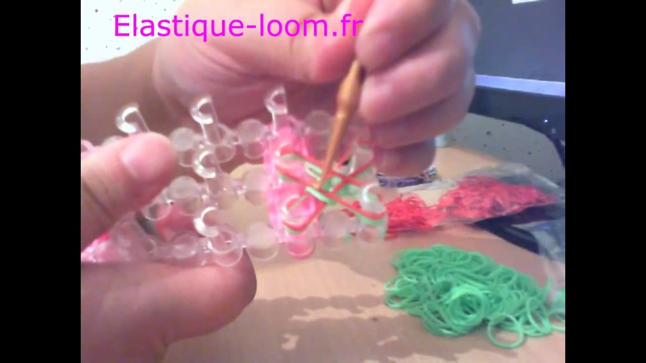 [Tuto] Bracelet loom rond (débutant)