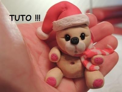 Tuto | Comment faire un ours de Noël en Fimo