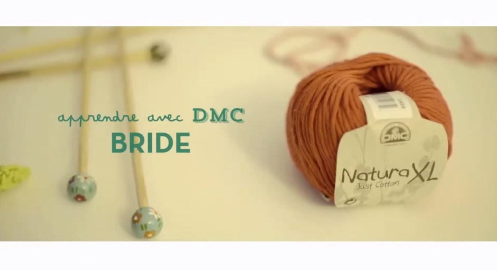 Tuto crochet : apprendre à faire une bride avec DMC