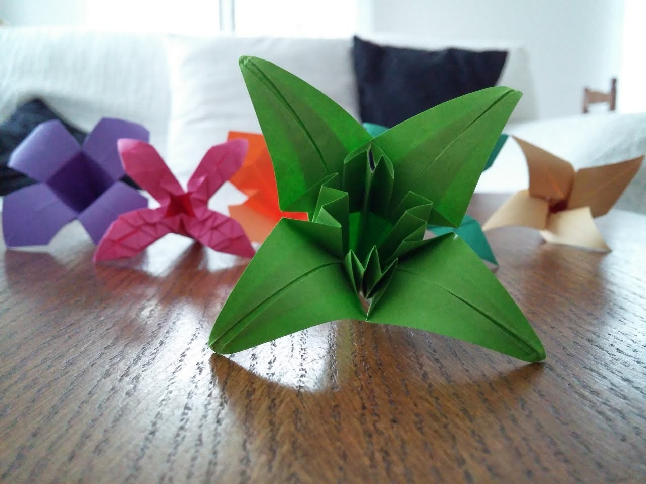 "Tutoriel Origami Flower - ""Nigelle"""