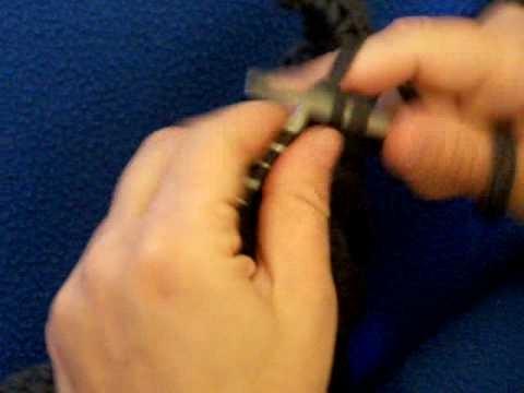 Apprendre à tricoter : double diminution en tricot