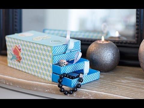 DIY bricolage fête des mères : Boîte à bijoux 100% récup'