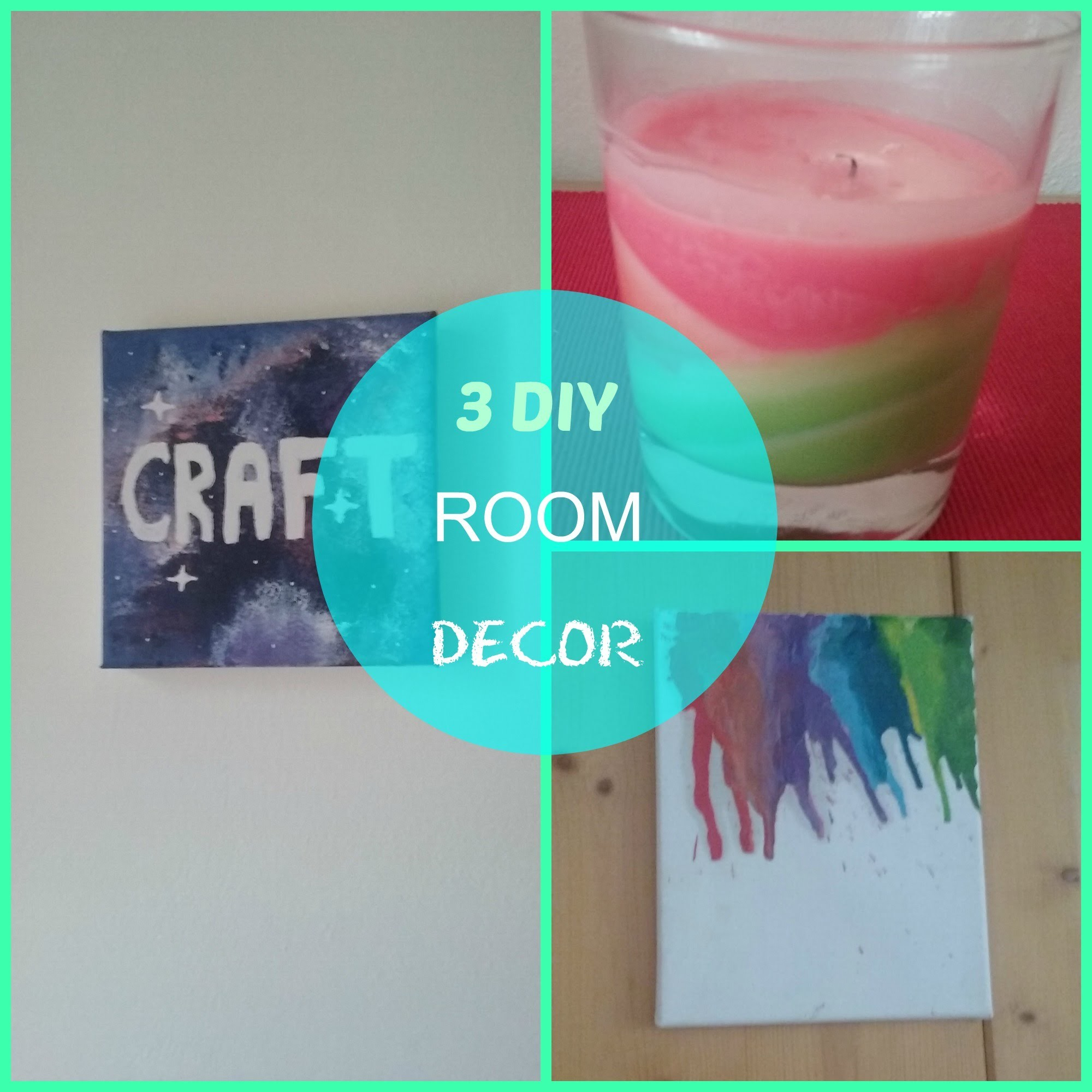 3 DIY ROOM DECOR