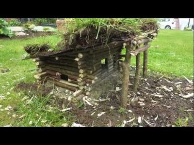 Construire une cabane en fuste miniature