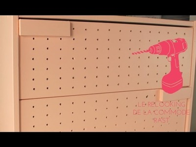 DIY Décoration. Le relooking de la commode RAST d'Ikea
