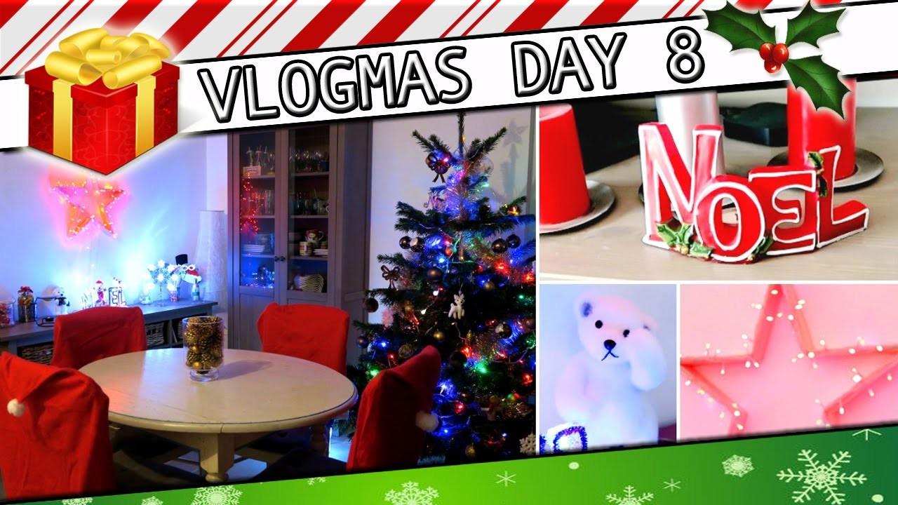 DIY grande étoile Lumineuse. Déco de Noël , séries, Noel house tour. #Vlogmas 8