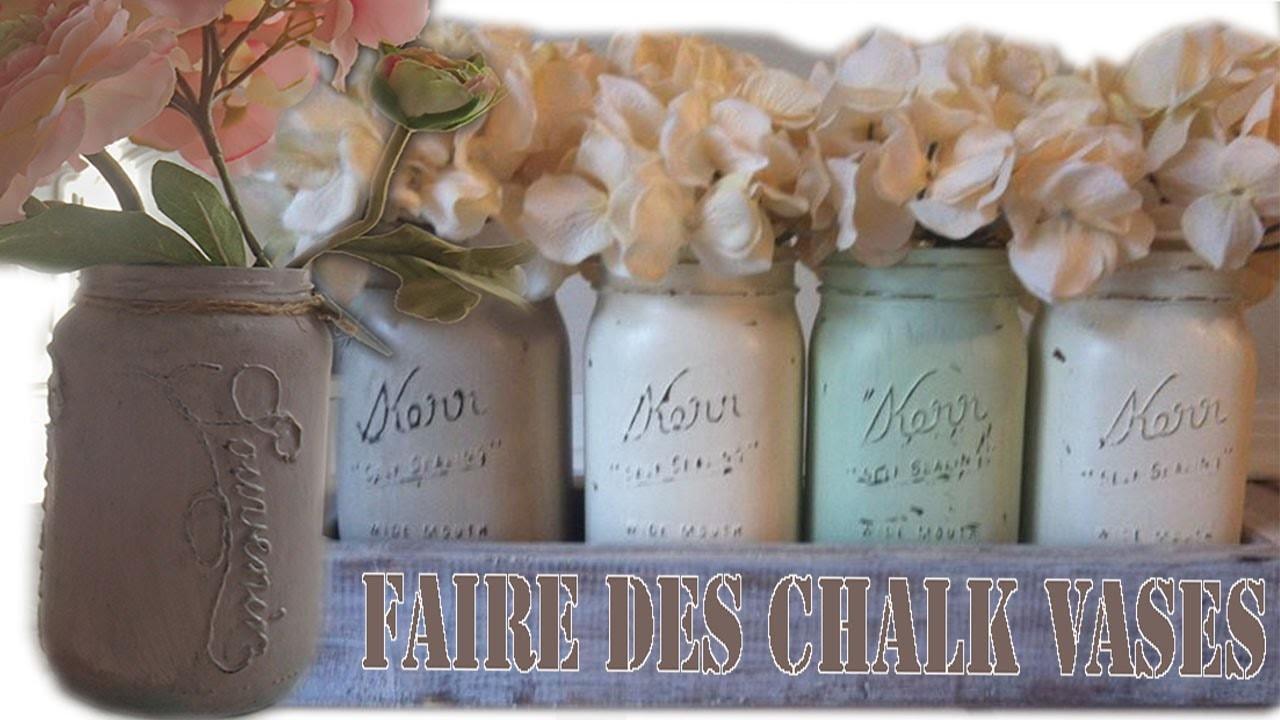 "DIY Style Mason Jar Chalk ""recycler vos pots de sauce"""