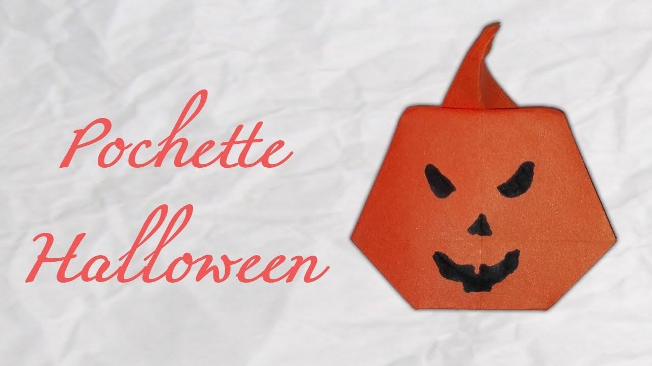 Origami ! pochette d'Halloween - Bag paper [ HD ]