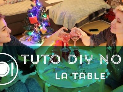 Tuto DIY en vidéo — La décoration de table de Noël
