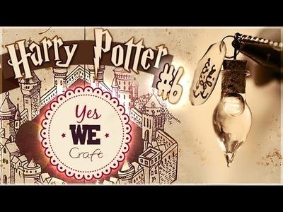YWC Harry Potter#6: La fiole de Chance de Professeur Slughorn. PÂTE POLYMÈRE, COLLE. PtitAtelier