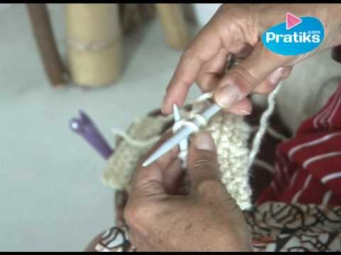 Apprendre à tricoter : Comment arrêter un tricot