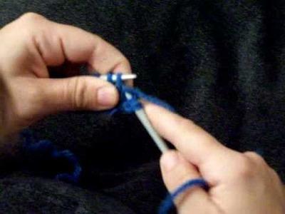 Apprendre à tricoter : les froufrous 2