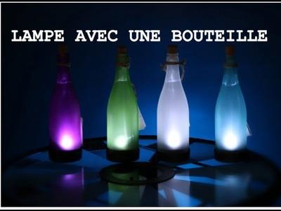 [DIY]-Faire une lampe avec une bouteille et une LED