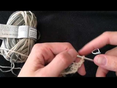 Explication crochet: demi bride, bride et double bride
