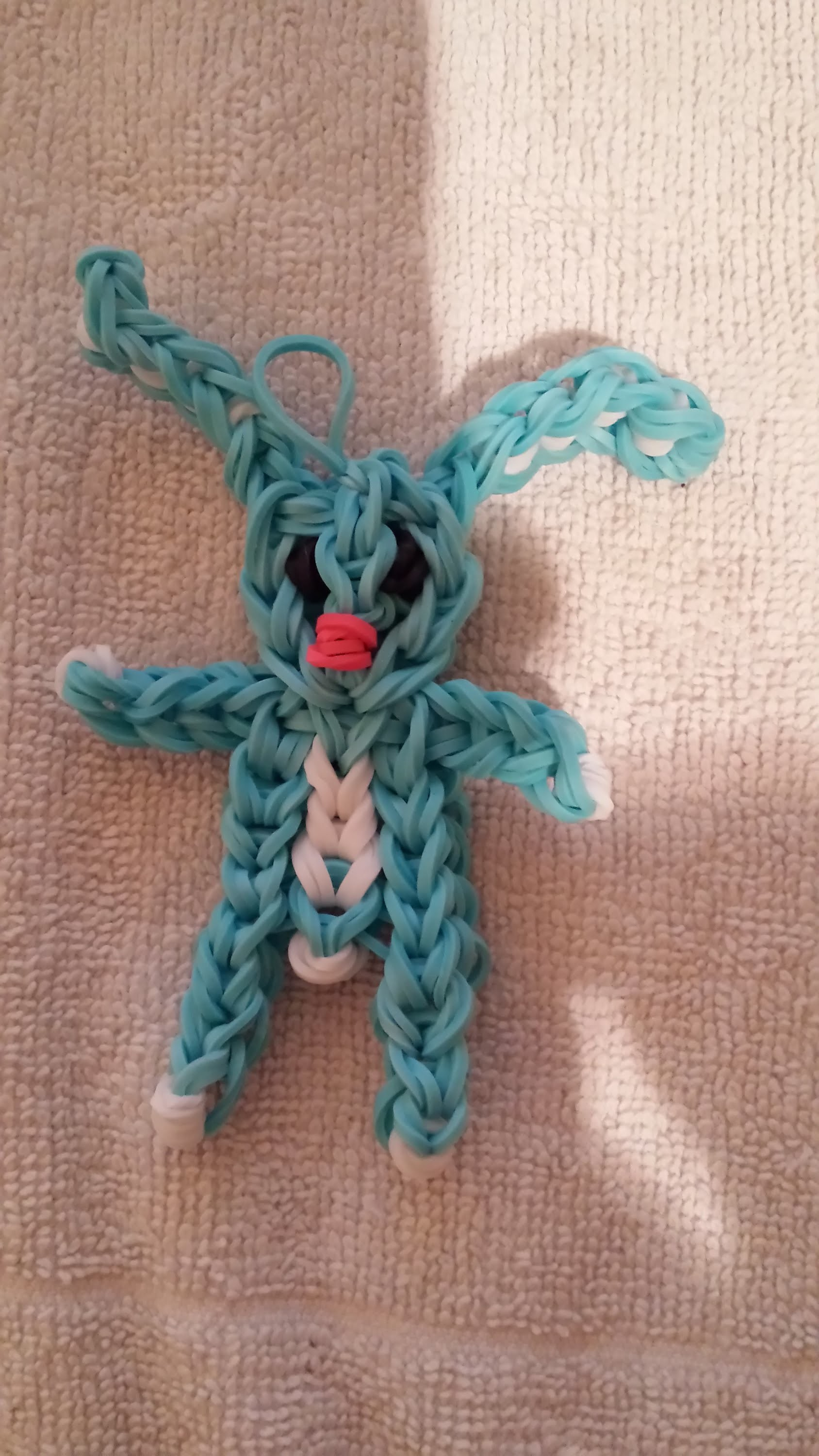 Lapin Tutoriel Rainbow loom