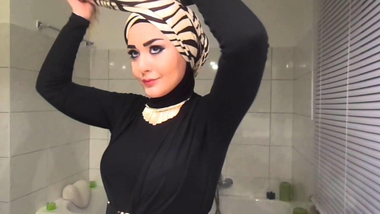 Turban Hijab Tutorial (Style 2)