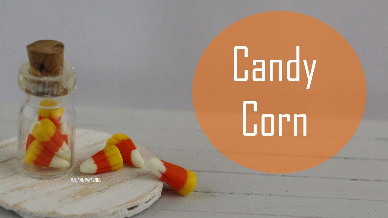 Tuto: Candy Corn (Pâte Polymère).