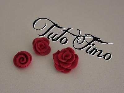 [♥✿ Tuto Fimo : La rose (3 techniques) ✿♥] ~ [♥✿ Polymer Clay Tutorial : 3 Roses ✿♥]