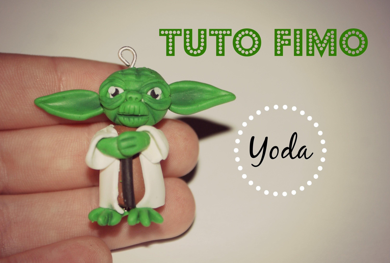 TUTO FIMO → Yoda. Yoda Polymer clay Tutorial