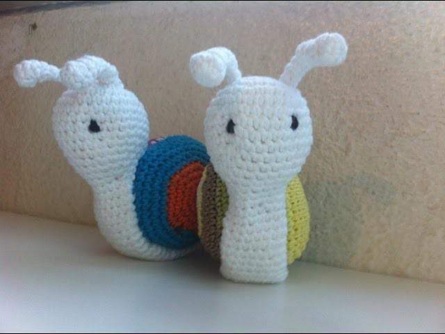 Amigurumi escargot crochet 2. amigurumi caracoles crochet 2