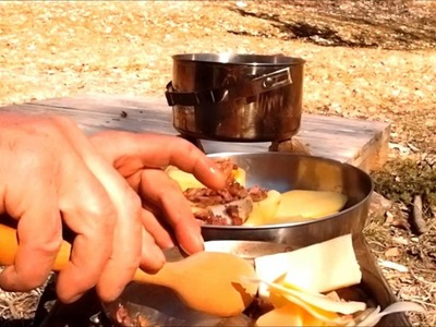 Bouche. craft: four Dakota et patates farcies