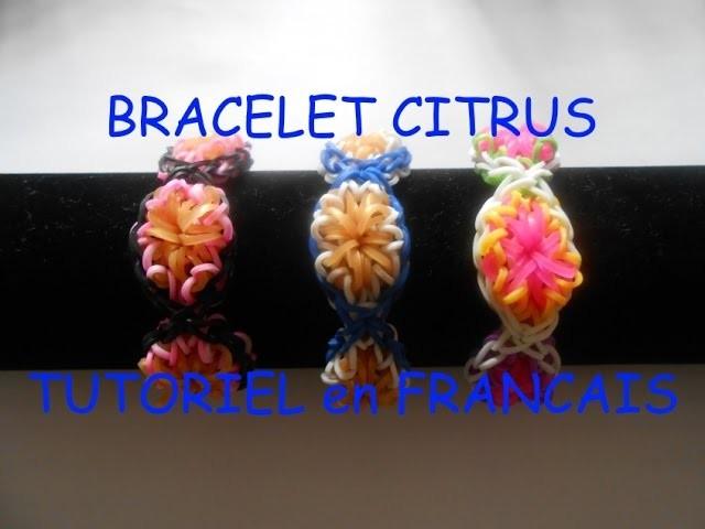 """Bracelet ELASTIQUE """"BRACELET CITRUS"""" TUTORIEL en FRANCAIS"""