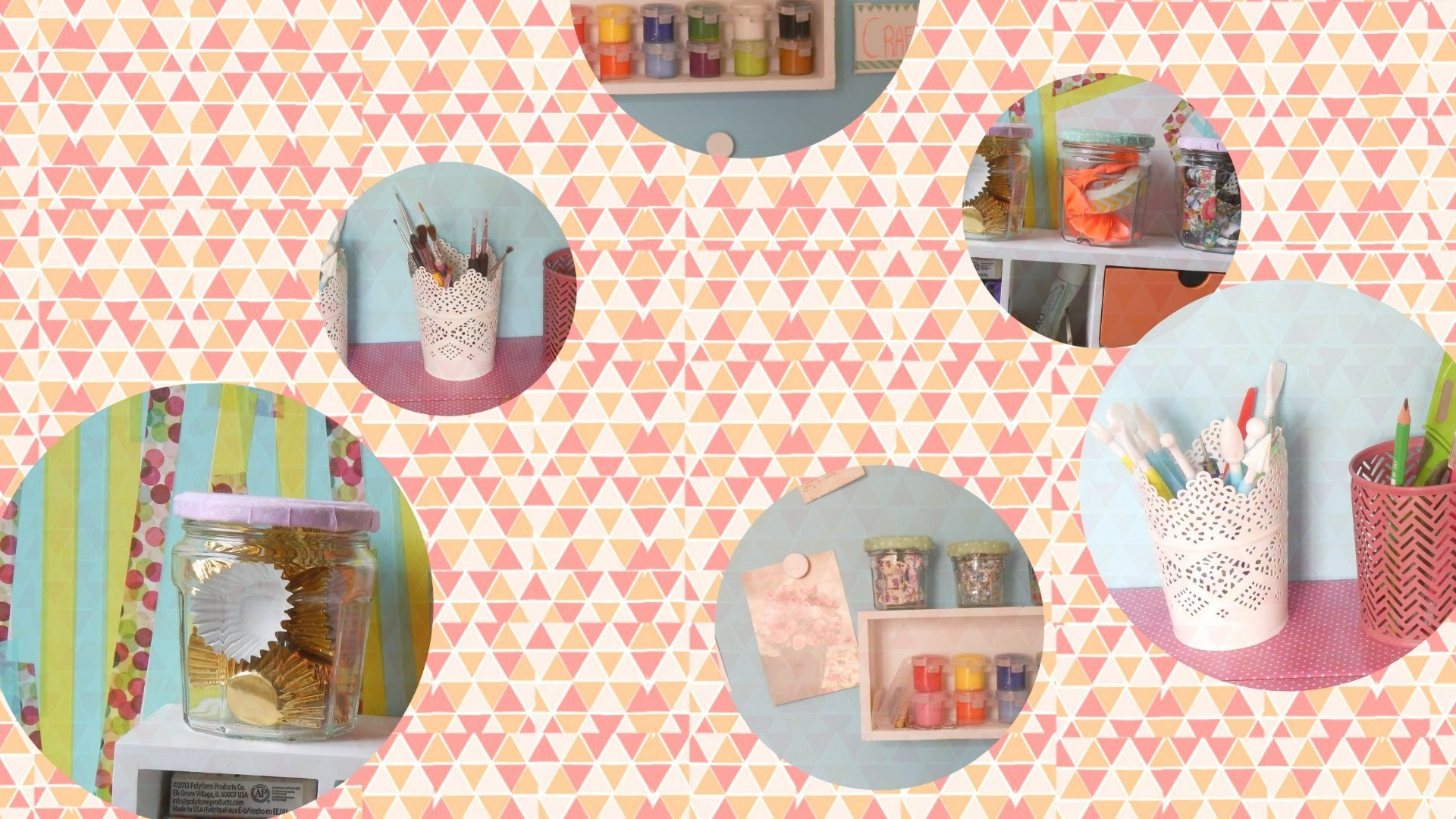 Craft roooom ! || Visite de mon atelier !