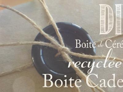 DIY : Comment Recyler une Boite de Céréales