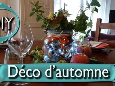DIY : décoration d'automne, pour Halloween, à faire soi-même, pas cher