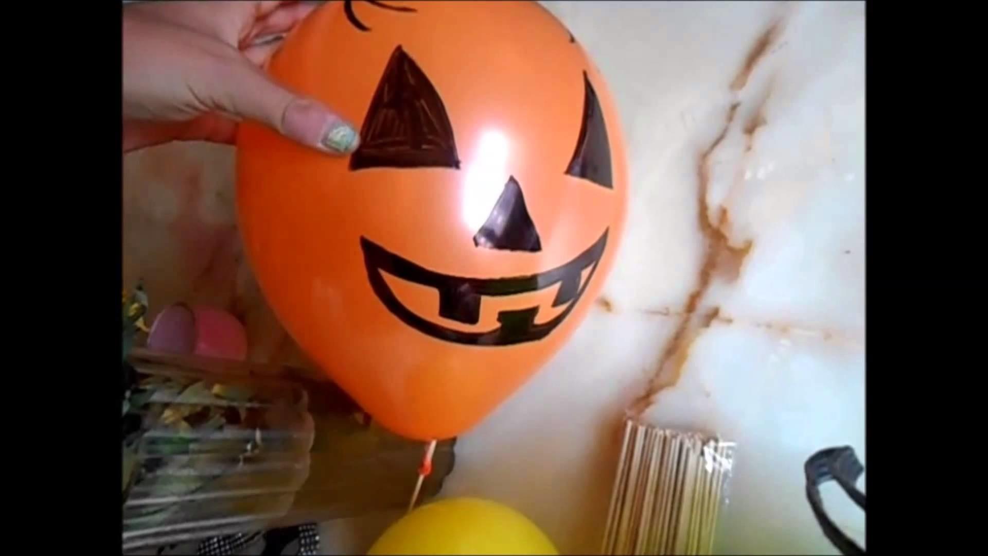 DIY : Halloween Ballons Lumineux