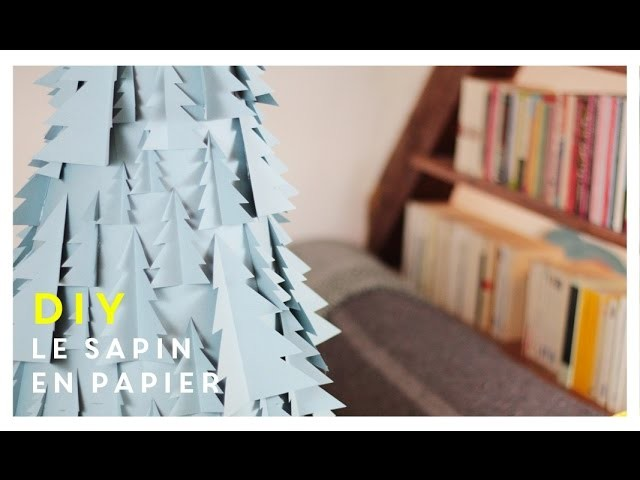 DIY | Le sapin de Noël en papier