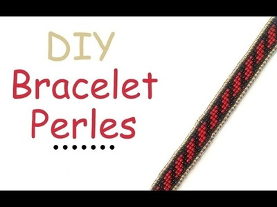 DIY Modèle bracelet perles de rocaille
