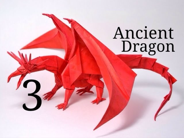 Origami Ancient Dragon tutorial - Satoshi Kamiya (part 3)