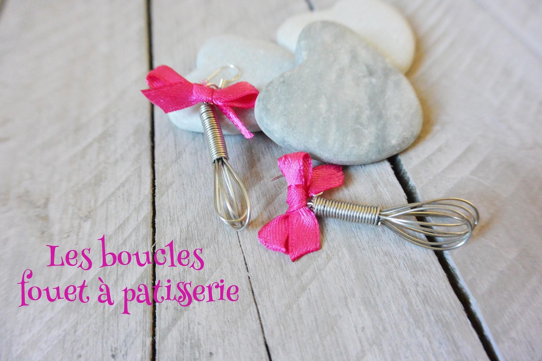 Tuto Boucles d'oreilles Fouet DIY