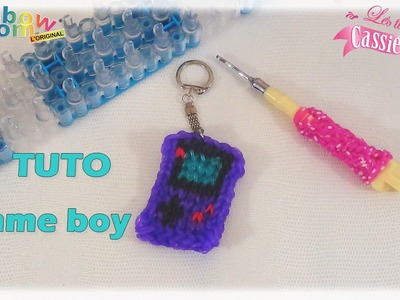 { TUTO } Game boy en élastique Rainbow loom