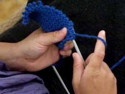 Apprendre à tricoter : défaire un tricot (2)