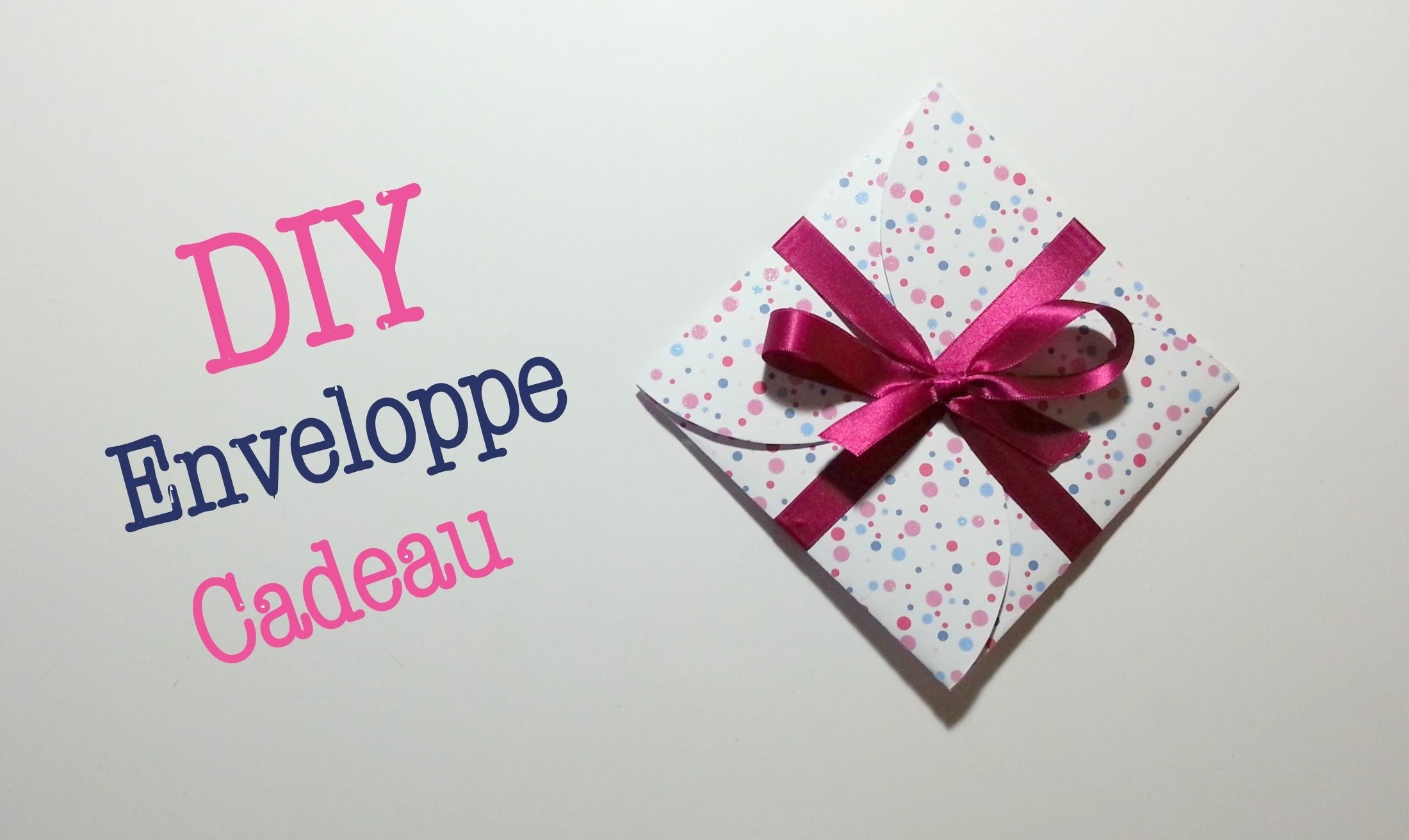 DIY Enveloppe Cadeau
