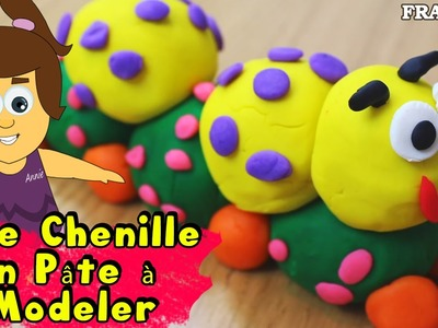 Francais Facile: How To Play Doh Caterpillar in French | DIY Rapide: Chenille en Pâte à Modeler