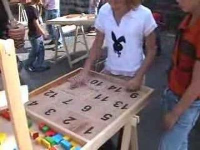 Les jeux en bois géants