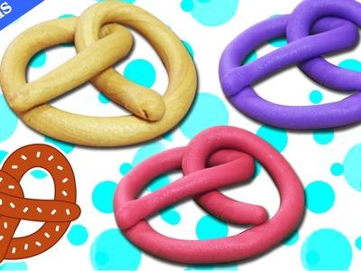 Play Doh Pretzels | Bretzels en Pâte à Modeler | Easy DIY Play-Doh Creations | Enfants Vidéo