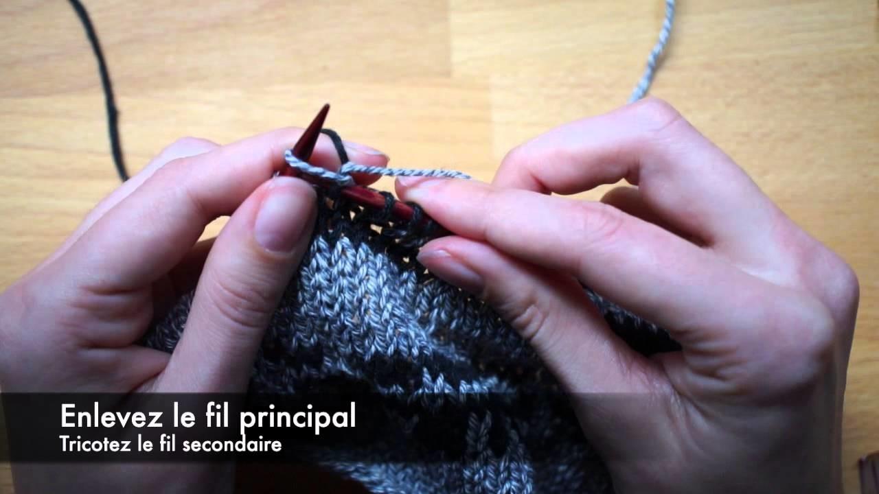 Technique de tricot : le jacquard