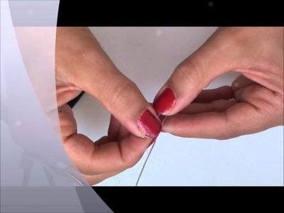 Tuto: Comment fabriquer une aiguille avec du fil metalique.