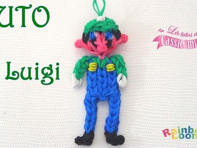 [ TUTO ] Luigi en élastique Rainbow Loom