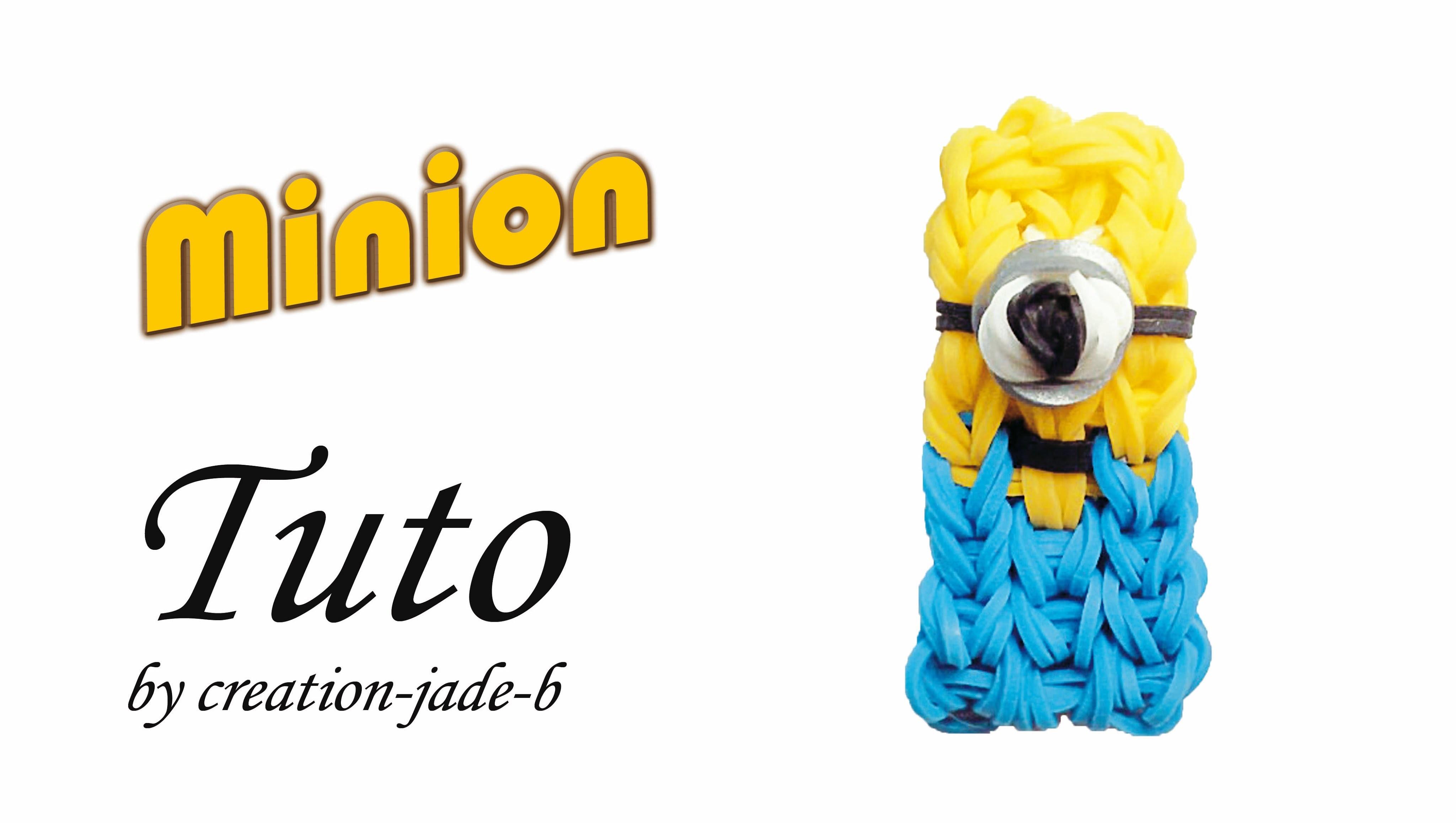 Tuto Rainbow Loom - Minion dans