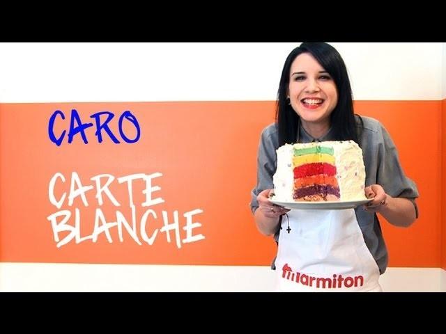 Caro chez Marmiton : Rainbow Cake au menu !
